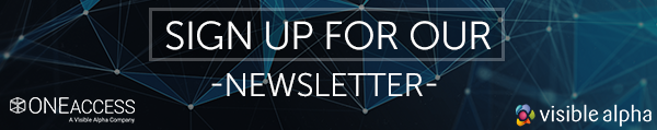 Sign up for the Visible Alpha newsletter